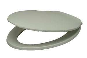 PROFLO Plastic Elongated Closed Front Toilet Seat PFTS2000