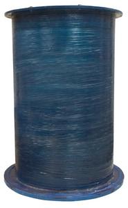Zoeller 24 in. Fiberglass Basin Antifloat with Solid Cover Z310946
