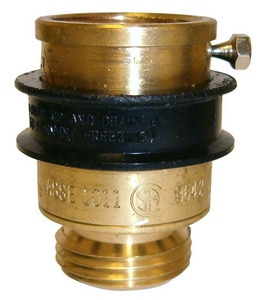 Wilkins Regulator BFP-8F Hose Thread Buna-N Brass and Rubber 3/4 in. 125 psi BFP Vacuum Breaker WBFP8F at Pollardwater