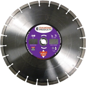 Diamond Products Core Cut™ Imperial Purple Dry High Speed Blade D78976