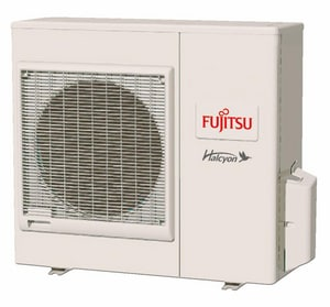 Fujitsu Halcyon™ 27.3 MBH R-410A 15 SEER Floor Mount Outdoor 2 Ton Mini-Split Heat Pump FAOU24RLX