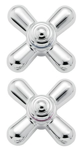 Moen Monticello® Large Cross Handle Insert Pair M97446