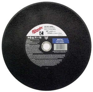 Milwaukee 14 in. Abrasive Cutoff Wheel M49941405