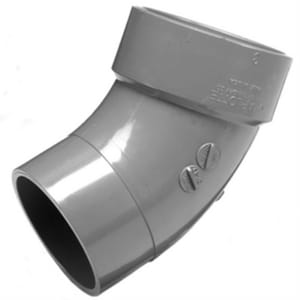 Charlotte Pipe & Foundry CPVC AW Street 45 Degree Elbow CPAWS4