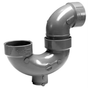 Charlotte Pipe & Foundry 1-1/2 in. Hub P-Trap CPAWPTSWJCOJ