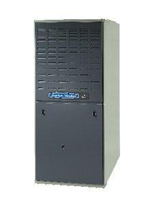 American Standard HVAC AUD1 100000 BTU 115 V 21 in. Upflow Horizontal Furnace AAUD1C100A9481A