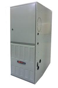 Trane 79000 BTU 21 in. 5 Tons 80% AFUE Upflow Horizontal Furnace TTUD1C100A9601A