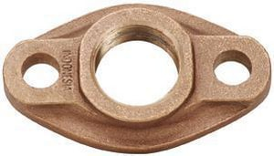 Matco-Norca Oval Meter Flange in Rough Brass M431T0