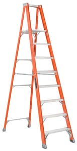 Louisville Ladder Fiberglass Platform Step Ladder LFP15