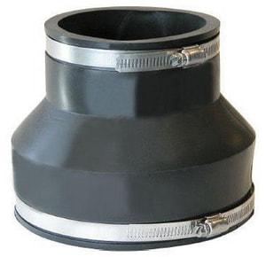 Fernco Cast Iron and Plastic Flexible Coupling F105642SR