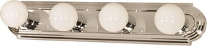 Nuvo Lighting 4 Light 400W 24 in. Vanity Polished Chrome N60297