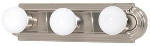 Nuvo Lighting 3 Light 300W 18 in. Vanity Bright Nickel N60300