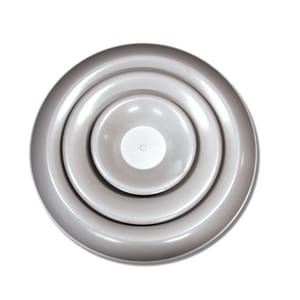 Shoemaker Manufacturing Round Ceiling Diffuser SRD