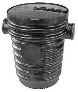 Topp 30 in. Corrugated Taper Wall Sump Basin TB2400TL