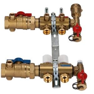 Qest Accuflow® 3/8 in. 2-Port Mainfold Kit QQHPM2