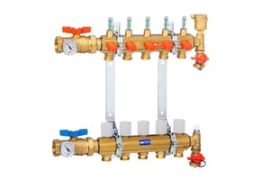 Qest Accuflow® 5-Port Brass Manifold Kit QQHPM5