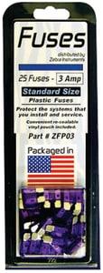 Zebra Instruments 25-Bag Plastic Fuse ZZFP