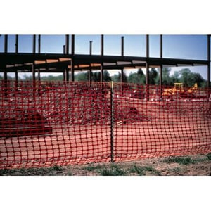 Atlantic Construction Fabrics 4 ft. Orange Barrier Safety Fence A8970P4100