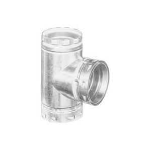 American Metal Products 3 in. Type B Gas Vent Tee A3ET