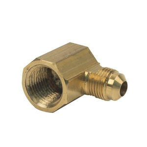 Brass Craft 3/8 x 1/2 in. OD Tube x FIP Brass Elbow B5068