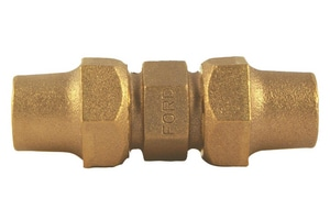 Ford Meter Box Flared Brass Coupling FC22