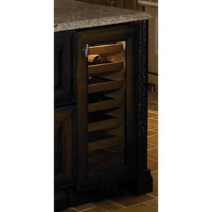 Sub Zero 26-Bottle Wine Cooler Overly With Right-Hand Door Swing S315WORH