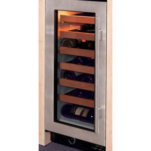 Sub Zero Wine Cooler in Stainless Steel With Left-Hand Tumblr Handle S315WSTHLH