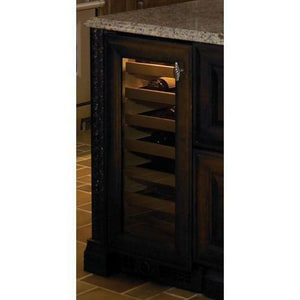 Sub Zero 15 in. 26-Bottle Wine Cooler Overlay With Left-Hand Door Swing S315WOLH