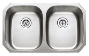 PROFLO® 2-Bowl Undercounter Kitchen Sink PFUE208