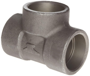 Socket 3000# Forged Steel Reducing Tee FSST