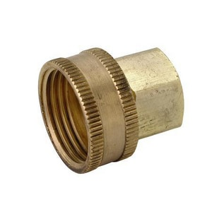 Brass Craft 75 psi FIP x FHT Hose Adapter BHUS11812