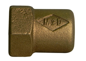 A.Y. McDonald 3/4 in. Flared x Copper Brass Straight Coupling M6130CCF