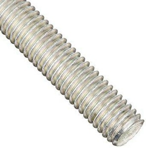 Vulcan Threaded Products 1 in. Zinc Plated All Thread Rod GATRG