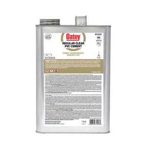 Oatey 1 gal. PVC Regular Clear Cement O31016