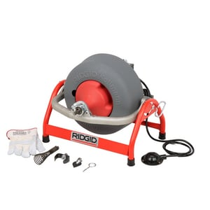 Ridgid 115V Drain Cleaner With C-32 Cable K-3800 R53117