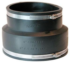 Fernco Concrete x Cast Iron and PVC Flexible Coupling F1006SR