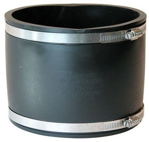 Fernco Cast Iron and Plastic Flexible Coupling F1056SR