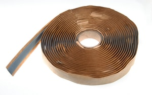 Hardcast 5/8 x 3/16 in. x 25 ft. Butyl Gasket Tape HAR304271