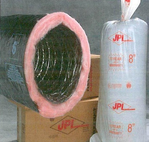 JP Lamborn 25 ft. Plastic Flexible Duct R6.0 JPR25R6