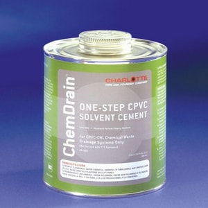 Charlotte Pipe & Foundry 1 qt. One-Step CPVC Solvent Cement CPSCG