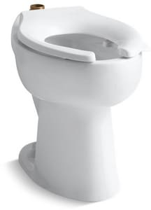 Kohler Highcliff™ Elongated Floor Mount Toilet Bowl K4368-L