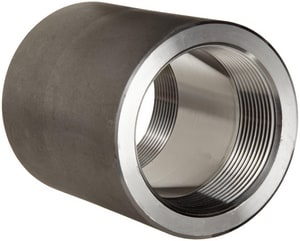 Threaded 3000# 316L Stainless Steel Coupling IS6L3T