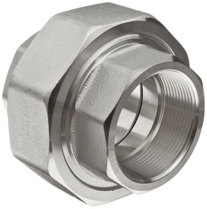 Threaded 3000# 316L Stainless Steel Union IS6L3TU