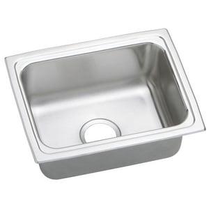 Elkay Gourmet® No-Hole 1-Bowl Topmount Sink ELFR1915