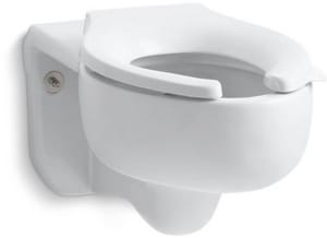Kohler Stratton™ Elongated Wall Mount Bowl K4450-C