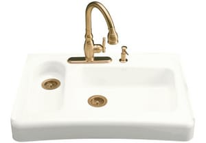 Kohler Assure™ 4-Hole 2-Bowl Kitchen Sink K6536-4
