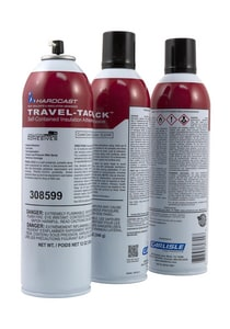 Hardcast Travel-Tack™ Portable Spray System Insulation Adhesive in Clear HAR308599