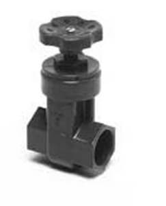 Orenco Systems 1 in. PVC Schedule 80 High Pressure Gate Valve OVG1000S