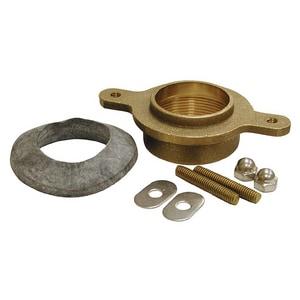 Jones Stephens 4-1/2 in. IPS Brass Urinal Flange Kit JF10005