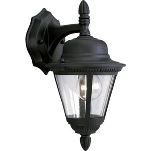 Progress Lighting Westport 1 Light 60W Outdoor Wall Lantern with Clear Seeded Glass PP5862